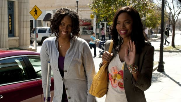 Shondrella Avery and Jill Marie Jones in Gillian in Georgia