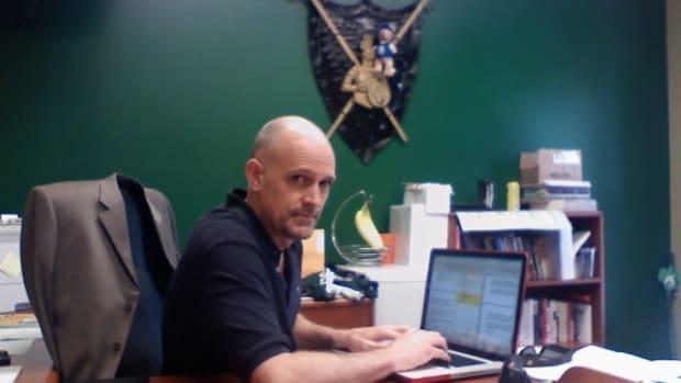 Screenwriter David Horton