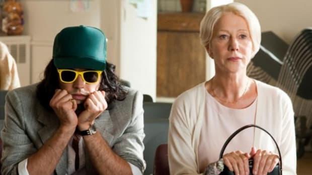 Arthur stars Russell Brand and Helen Mirren