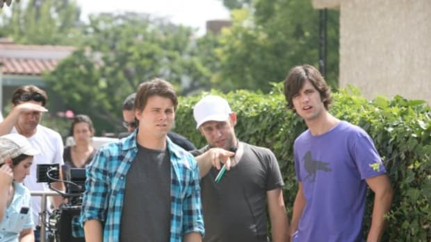 From left, actor Jason Ritter, screenwriter/director Brian Crano and screenwriter/actor Jake Sandvig.