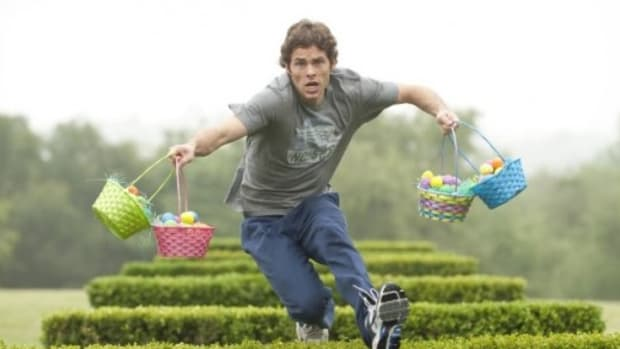 James Marsden stars in Hop.