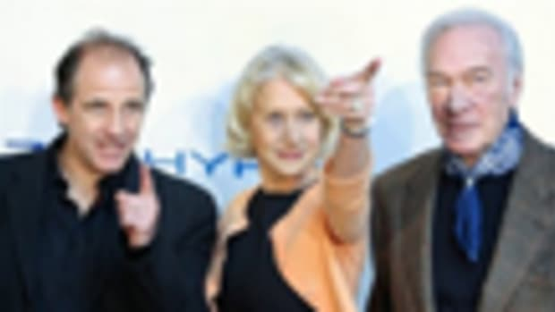 Director Michael Hoffman and actors Helen Mirren and Christopher Plummer