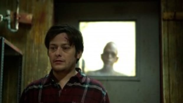 Edward Furlong (front) with Michael Berryman