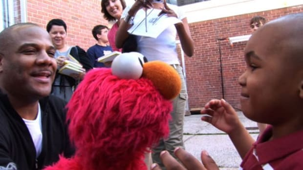 Kevin Clash bring Elmo to kids around the world.
