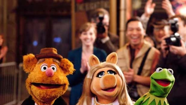 The Muppets reunite; ©Disney Enterprises, Inc. All Rights Reserved.