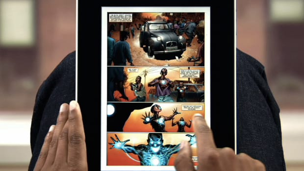 Read comic books on iPad