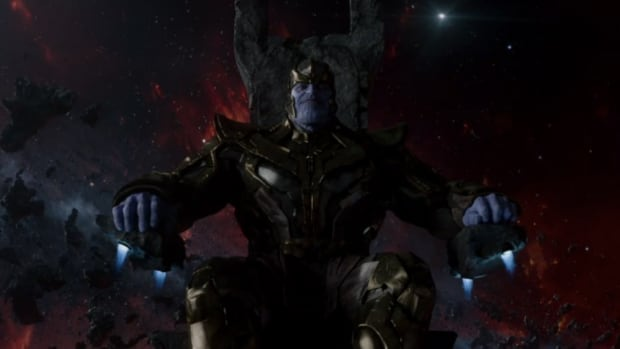 Thanos first appeared in the Marvel Cinematic Universe when Perlman chose him as the villain in the first drafts of the 'Guardians of the Galaxy' script. (photo: Marvel Studios)