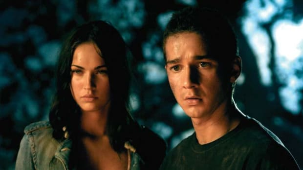 Megan Fox and Shia LaBeouf PHOTO Robert Zuckerman [Production Photos Courtesy of DreamWorks LLC and Paramount Pictures