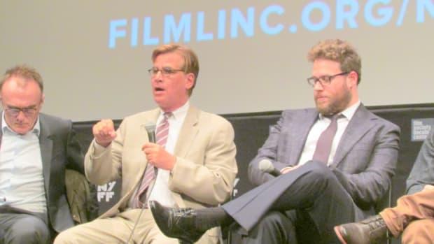 Danny Boyle, Aaron Sorkin, Seth Rogan