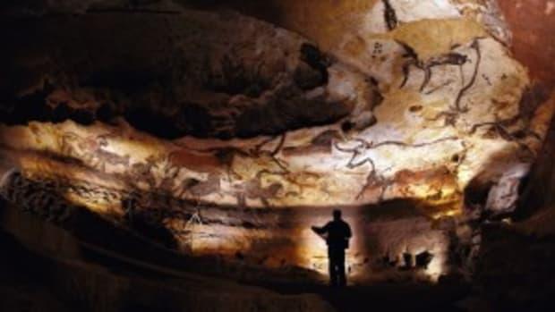 Lascaux cave walls