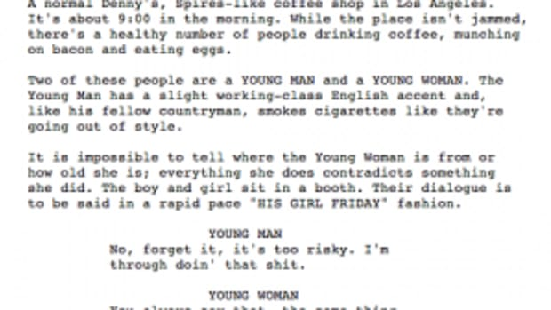 Excerpt from 'Pulp Fiction'