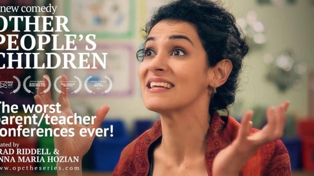 Rebecca Norris interviews screenwriters Brad Riddell and Anna Maria Hozian about their hilarious web series about insane parents, Other People's Children.