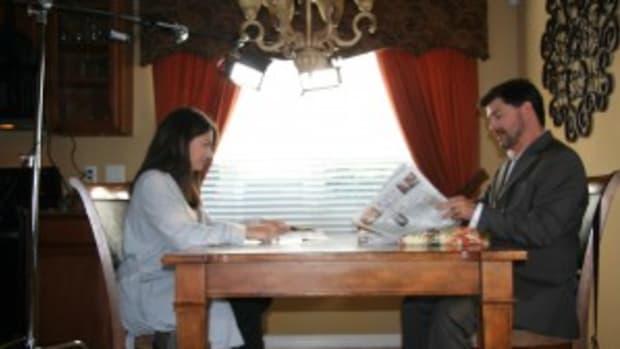 Jennifer Fontaine and John T. Woods photo courtesy of Juliana Bellini