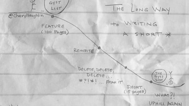 The Long Way Round to Writing a Short Film by Cheryl Laughlin | Script Magazine #scriptchat #screenwriting