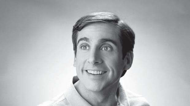 Steve Carell as Andy Stitzer in The 40 Year-Old Virgin, written by Judd Apatow & Steve Carell. PHOTO: Art Streiber