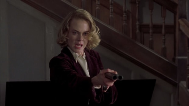 Nicole Kidman stars as Grace Stewart in The Others, written by Alejandro Amenábar.