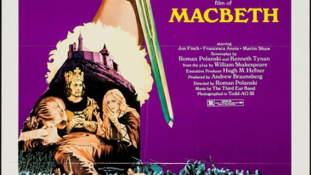 Polanski Macbeth poster - Shakespeare