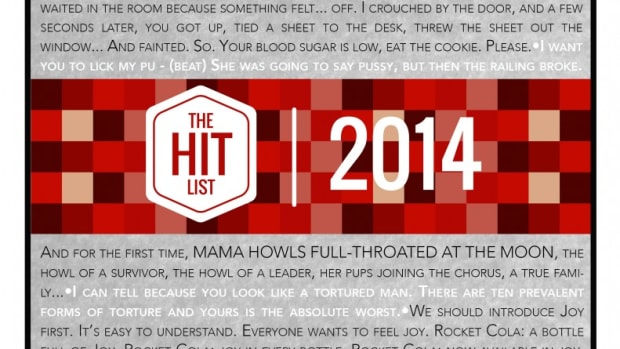 THE HIT LIST 2014 (cover)