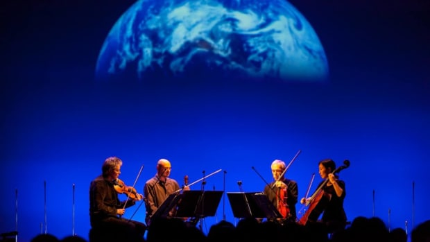 "Susan Kouguell speaks with filmmaker Sam Green about his new project ""A Thousand Thoughts."" Green performs a live narration on stage throughout the 85-minute piece alongside the Kronos Quartet."