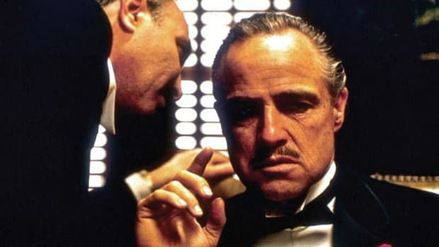 Marlon Brando in The Godfather PHOTO: PARAMOUNT HOME ENTERTAINMENT