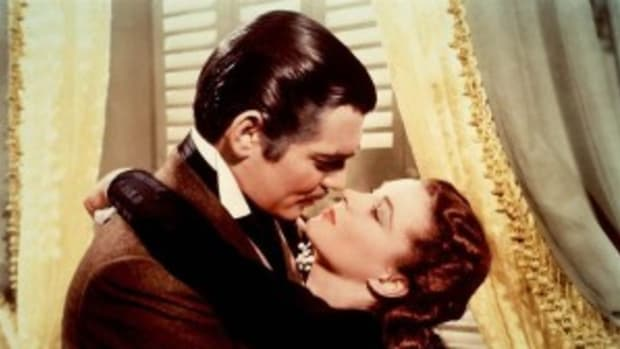 Rhett Butler and Scarlet O'Hara in 'Gone with the Wind'