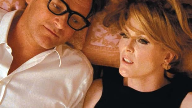 Colin Firth as George and Julianne Moore as Charlotte in A Single Man (PHOTOS: EDUARD GRAU COURTESY: THE WEINSTEIN COMPANY)
