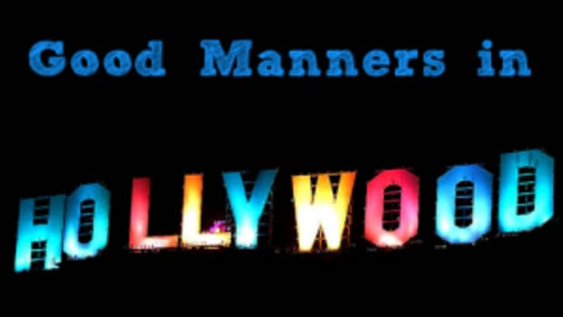Good Manners in Hollywood
