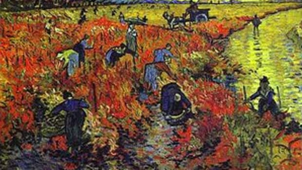 ed Vineyard at Arles The Vigne Rouge