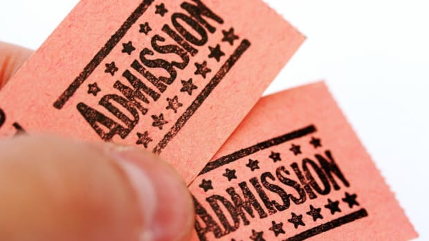 Admission Tickets To Show Or Fair