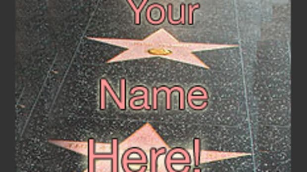 Your Name on The Walk of Fame