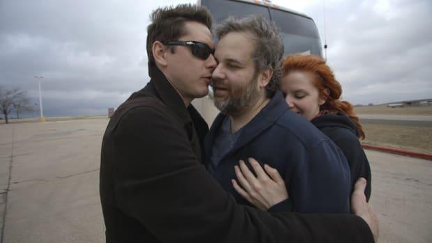 Jeff Davis, Dan Harmon and Erin McGathy in 'Harmontown'