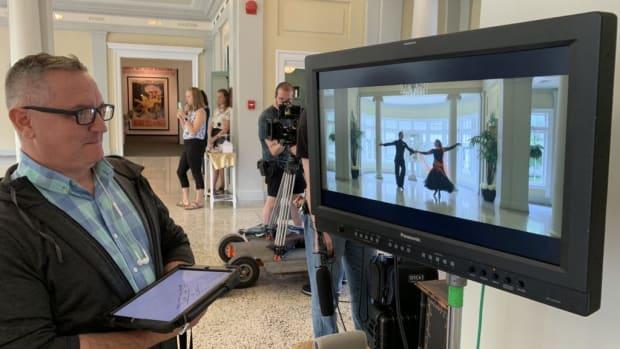 Chuck Girard, Script Supervisor on Set