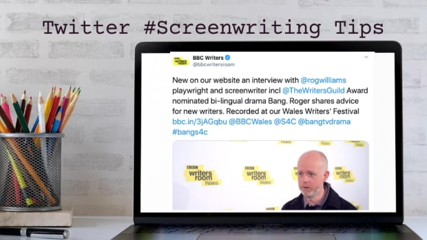 Twitter Screenwriting Tips BBC Roger Williams 1