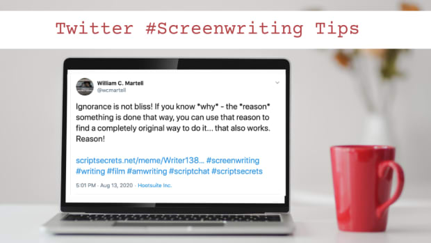 Twitter #Screenwriting Tips