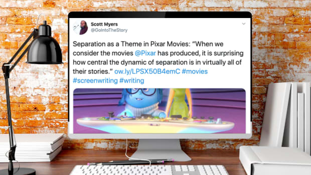 Twitter screenwriting tips theme logline