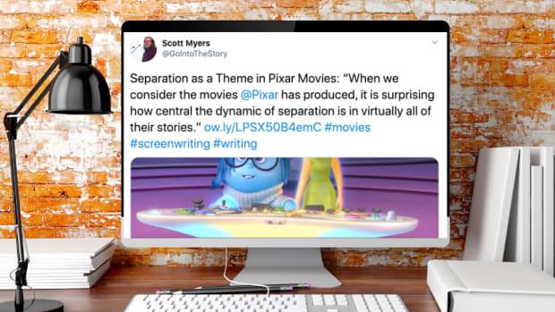 Twitter screenwriting tips theme logline