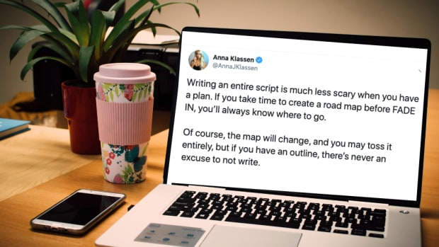 Anna Klassen twitter screenwriting tips outline