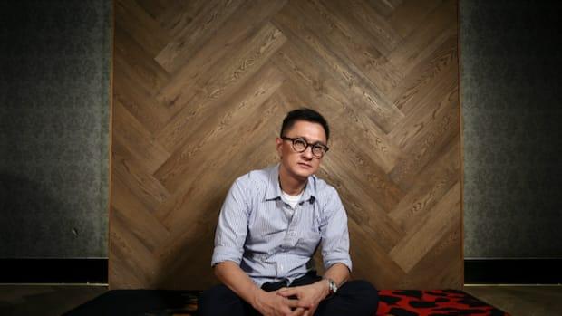 Wilson Yip Wai-shun, director of the film 'Paradox', poses for a photograph in Tai Kok Tsui, Hong Kong.