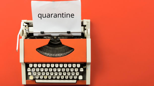 covid quarantine writer resources