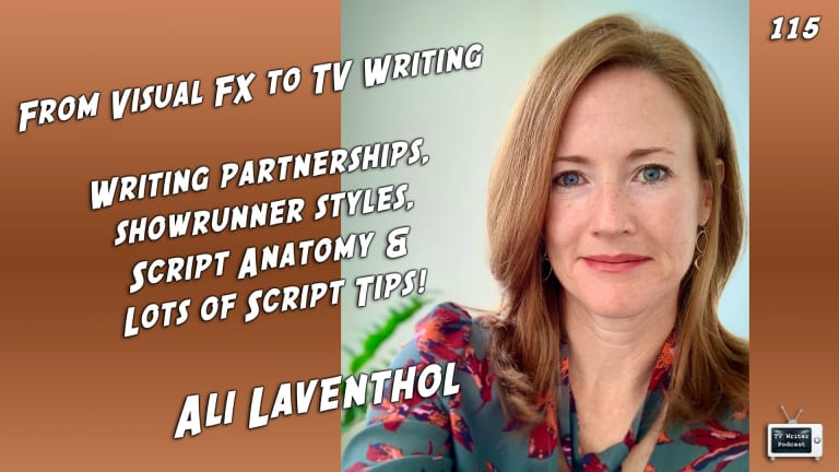 TV Writer Podcast 115 - Ali Laventhol (Ginny & Georgia, A Million Little Things)