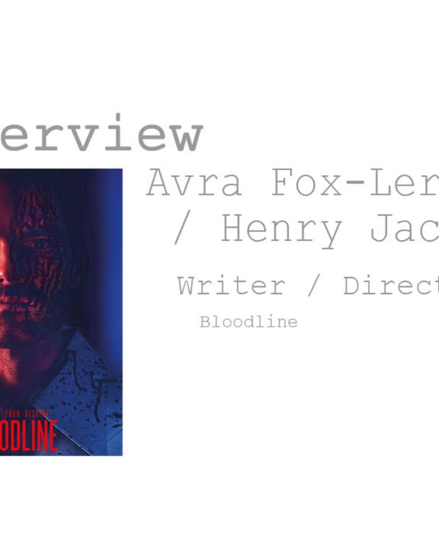 Screenwriters Henry Jacobson and Avra Fox-Lerner discuss their new crime thriller feature film, Bloodline, and how they were able to attach Seann William Scott to the project.