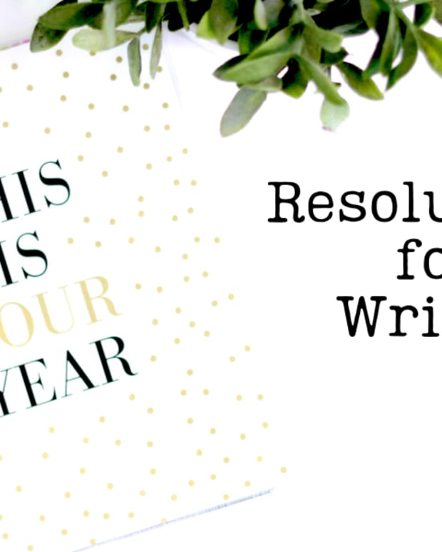 Resolutions for Writers