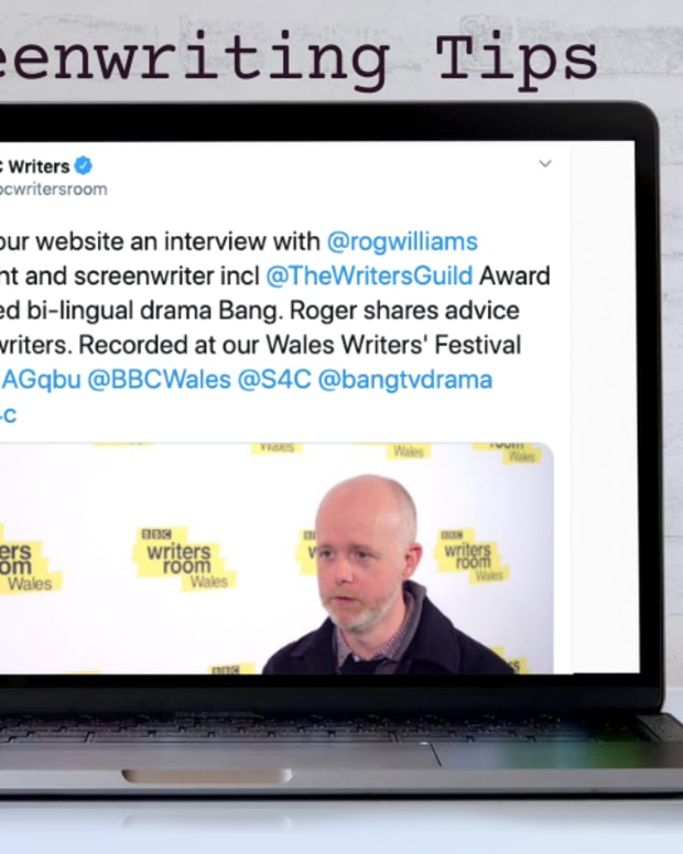 Twitter Screenwriting Tips BBC Roger Williams
