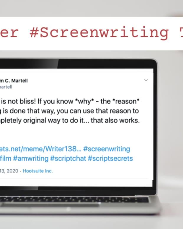 Twitter #Screenwriting Tips