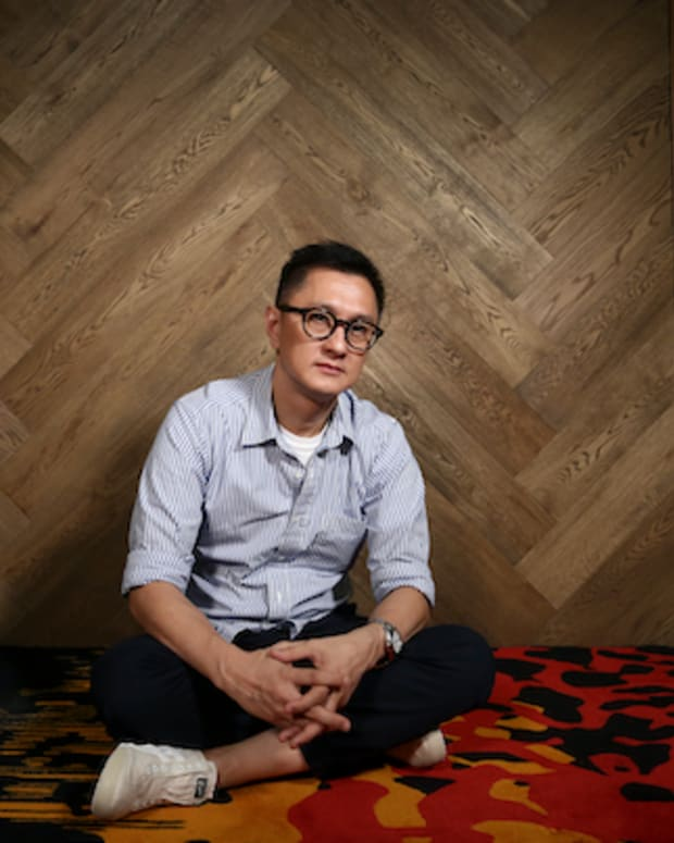 Wilson Yip Wai-shun, director of the film 'Paradox', poses for a photograph in Tai Kok Tsui, Hong Kong.