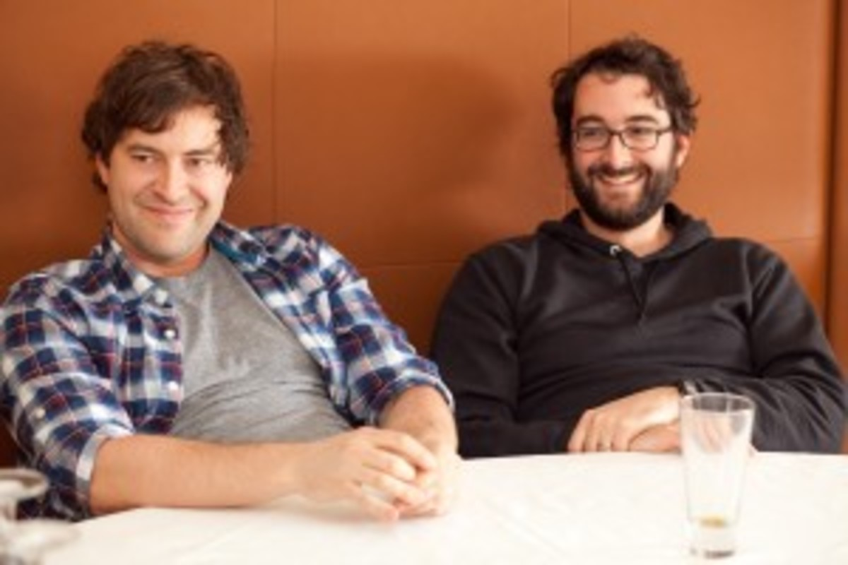 Mark and Jay Duplass, writers/directors of Cyrus (photo by Cassie Bannister/Script)