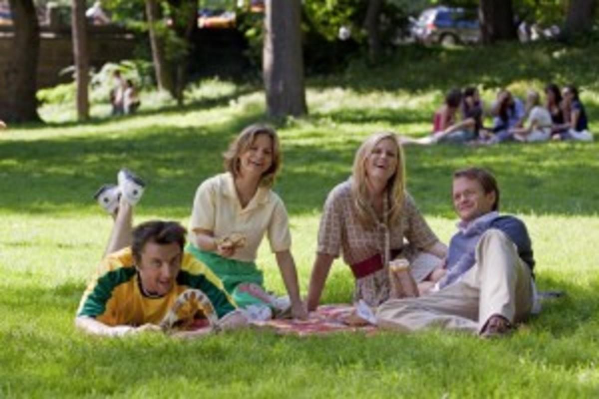 Peter Serafinowicz, Amy Sedaris, Bonnie Somerville, and Neil Patrick Harris