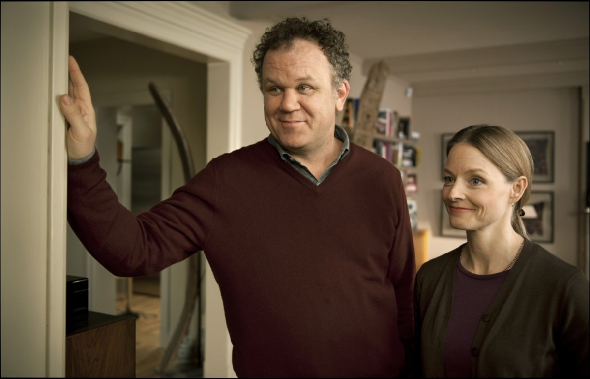 John C. Reilly and Jodie Foster in Carnage; Sony Pictures Classics