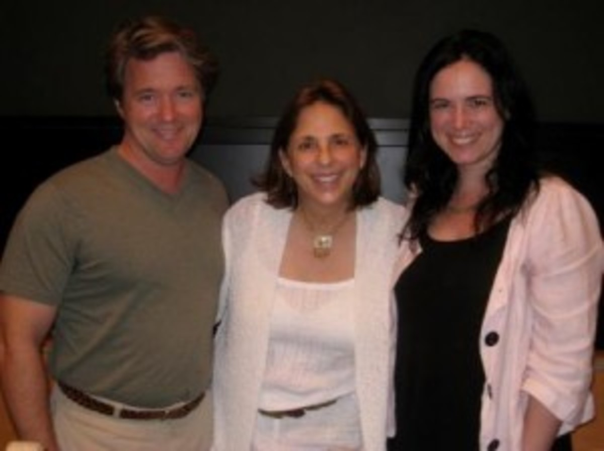 Will Chandler, Annette Handley Chandler, and Christina Lazaridi