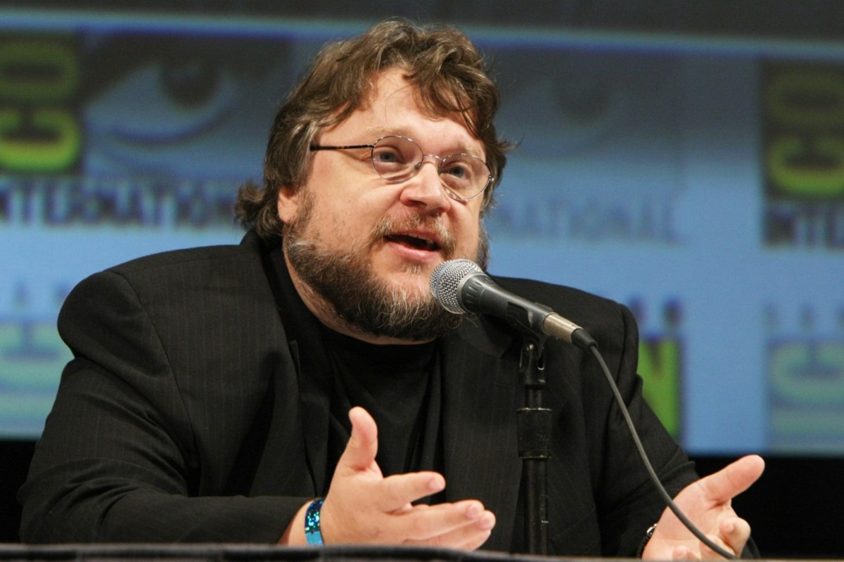 "SAN DIEGO, CA - JULY 22: Guillermo Del Toro at the annoucement of the development of Disney's ""Haunted Mansion"" at 2010 Comic-Con on July 22, 2010 at the San Diego Convention Center in San Diego, California. (Photo by Eric Charbonneau/Le Studio/Wireimage)"